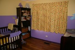 The babys room, comleted with furniture, stage 6/6