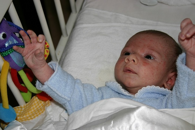 Hunter Burfitt, 1 month old
