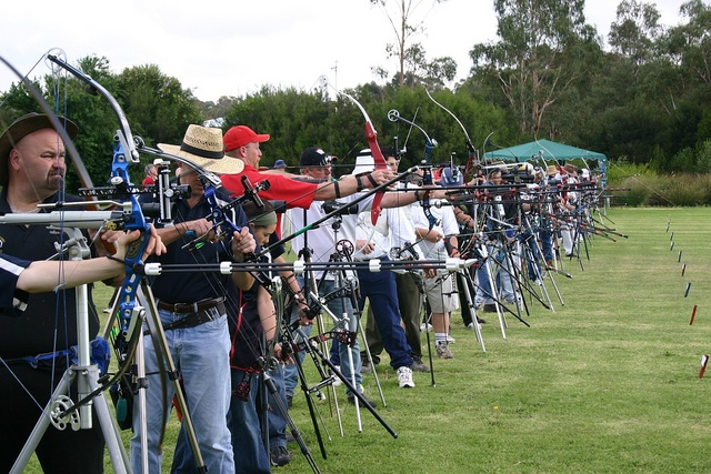 Archers to the line