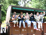 More Puffing Billy waving