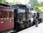 Puffing Billy, Driver and Engineer