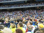 The opening ceremony, MCG