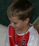 Luke, Xmas day 2003
