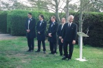 The groomsmen waiting (Photo by Brendan)
