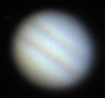 Jupiter - multiple images stacked